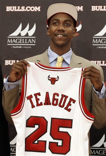 Bulls introduce G Marquis Teague