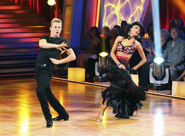 Derek Hough and Nicole Scherzinger …
