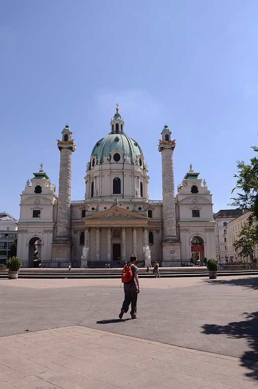 Travel Europe Churches Vienna St Peter's Church