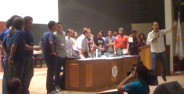 YallaStartup Weekend 2010 winners