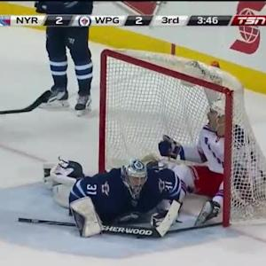Chris Kreider Goal on Ondrej Pavelec (16:14/3rd)