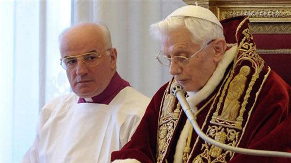Pope Benedict XVI to resign Feb. 28
