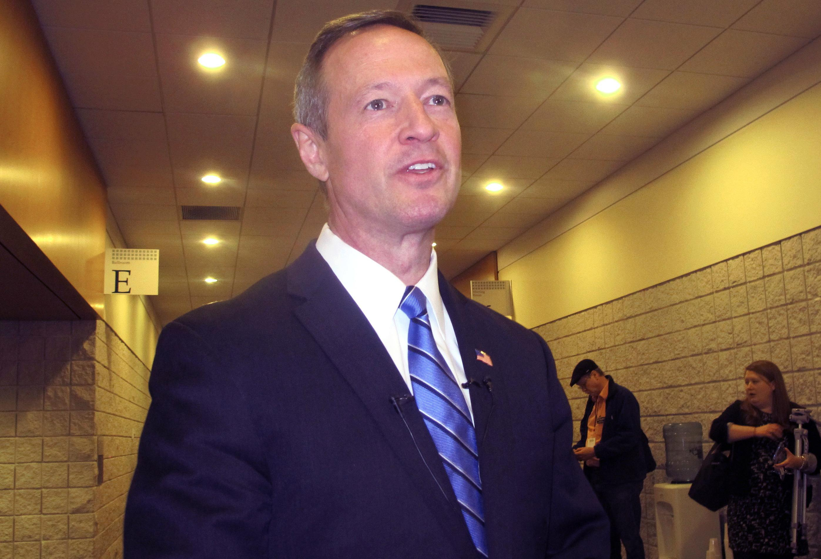 O'Malley won't seek Mikulski seat, keeps White House option
