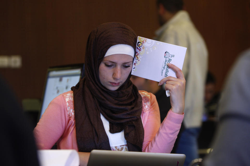 Palestinians seeking statehood look to high-tech