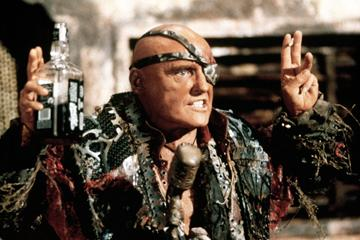 Dennis Hopper in Universal Pictures' Waterworld