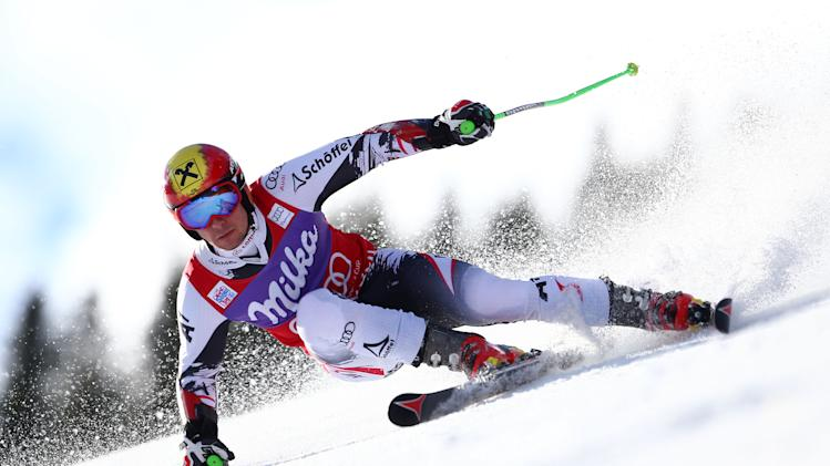 Neureuther wins WCup giant slalom; Ligety skis out