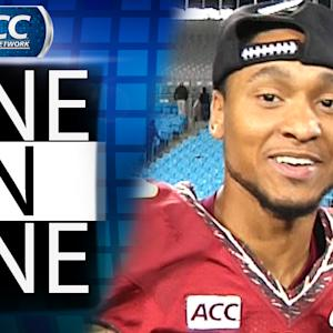Rashad Greene Talks ACC Championship Game