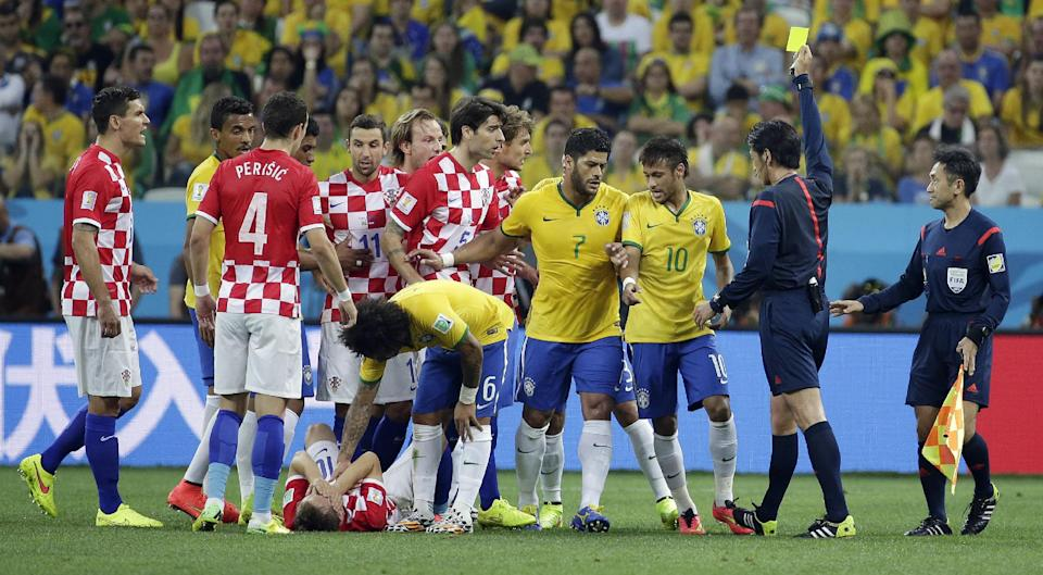 Brazil vs Croatia 3-1 world cup 2014 piala dunia