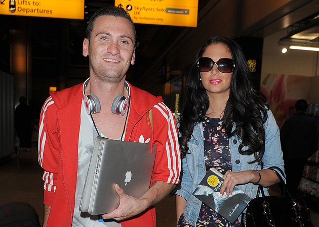 Tulisa Contostavlos, Gareth Varey, flight fight