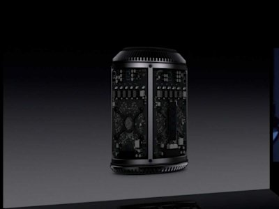Apple WWDC Mac Pro innards