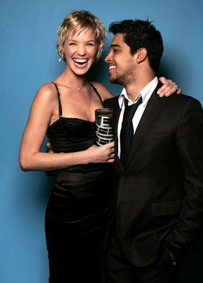 Ashley Scott and Wilmer Valderrama Movieline Young Hollywood Awards - 5/2/2004