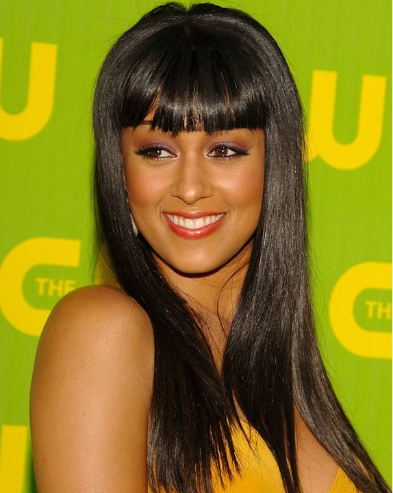 Tia Mowry at The CW Launch Party.