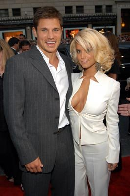 Nick Lachey and Jessica Simpson MTV Video Music Awards - 8/28/2003