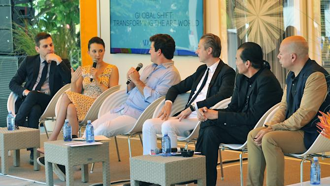 """AD Oasis Hosts RBC Wealth Management's """"Global Shift: Transforming The Art World"""" Breakfast Panel"""