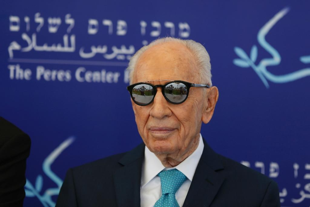Israel's Shimon Peres 'fighting for life' after stroke