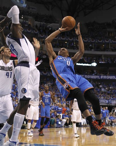 Thunder rally to complete 1st-round sweep of Mavs