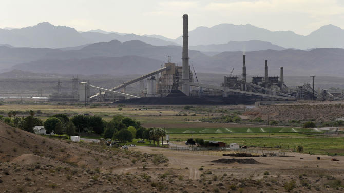 Tribe near Vegas appealing EPA coal plant air rule