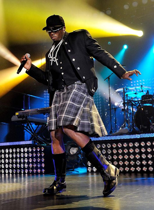 P Diddy MTV Glasgow Cncrt
