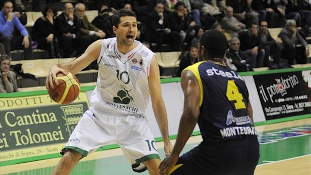 2013 Serie A Siena-Montegranaro - AP/LaPresse