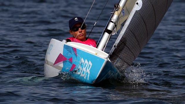 Helena Lucas, British Paralympic sailor (PA Photos)