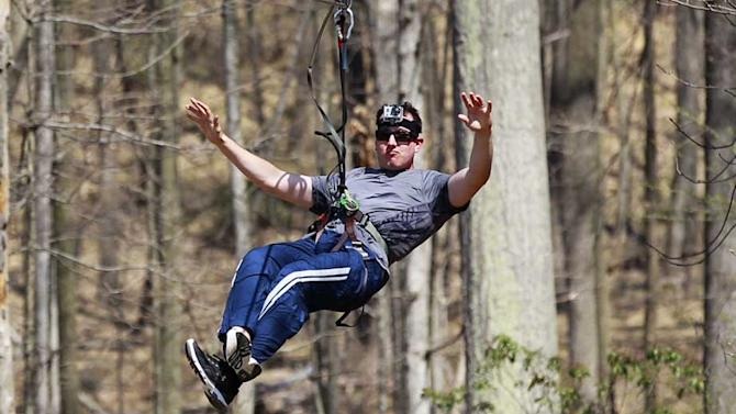 Kyle Busch is king of jungle for a day