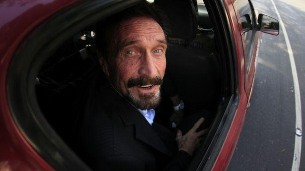 Remarkably, John McAfee Returns to the U.S. Without Breaking Any Laws