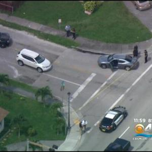 Hollywood Police Officer Involved In Shooting