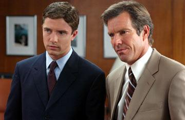 Topher Grace and Dennis Quaid in Universal Pictures' In Good Company