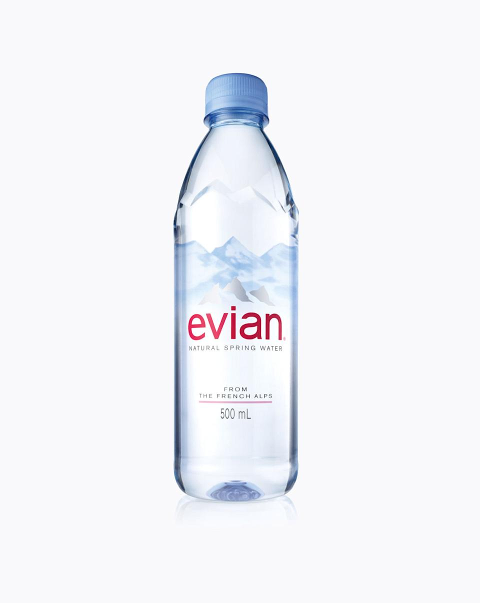 Evian giving its water bottle a makeover