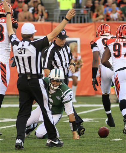 Bengals beat Jets 17-6 in Tebow's NY debut