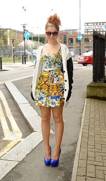 Arriving at Hackney Radio 1's live lounge in June, 2012