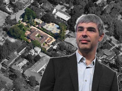 Larry Page Palo Alto home