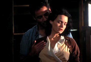 Jeremy Northam and Carla Gugino in Paramount Classics' The Singing Detective