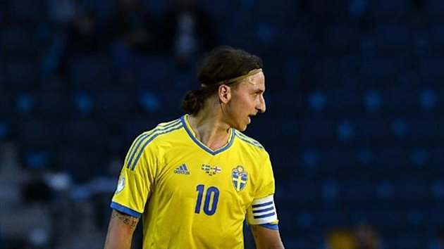 Zlatan Ibrahimovic of Sweden (AFP)
