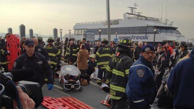 NYC ferry crash