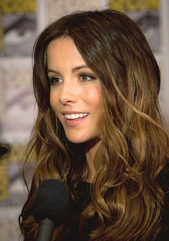 Kate Beckinsale has been making the rounds at the premieres for &quot;Total Recall.&quot;