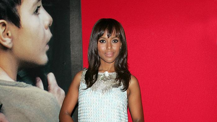 Miracle at St. Anna NY Premiere 2008 Kerry Washington