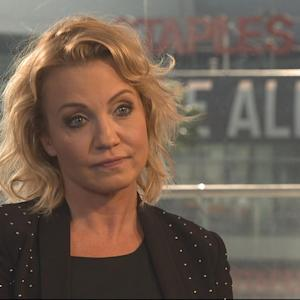 Michelle Beadle Speaks Out Against Domestic Violence