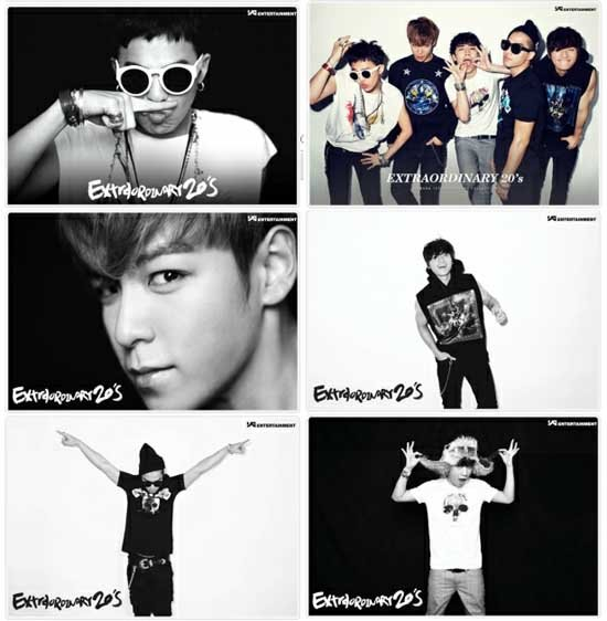 Big Bang Members Shares their 'Extraordinary 20s' with Fans