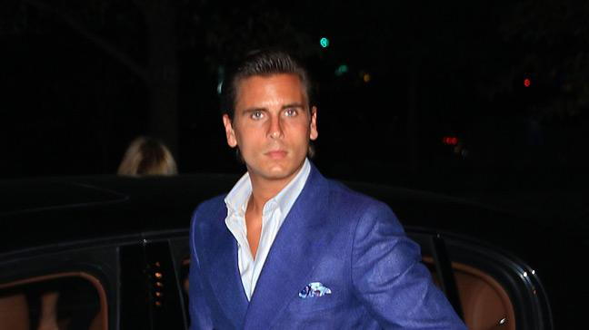 Disick Scott Out InNY