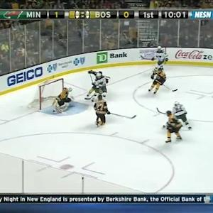 Minnesota Wild at Boston Bruins - 10/28/2014