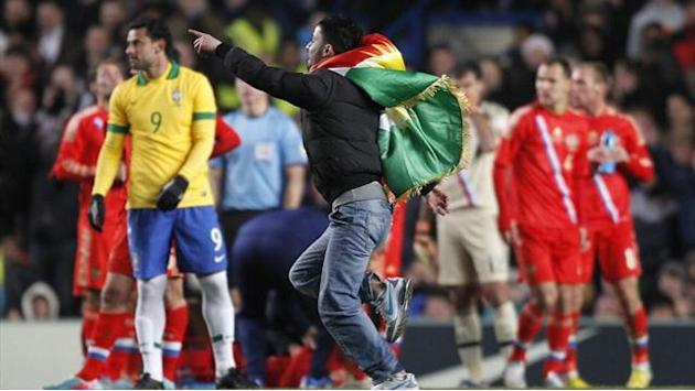 European Football - Capello: Pitch invader cost Russia victory