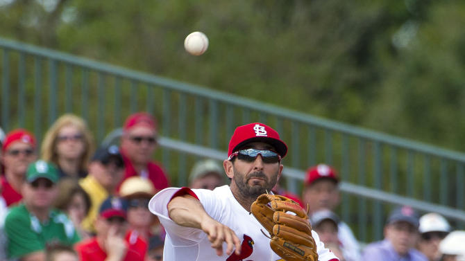 MLB: Spring Training-New York Mets at St. Louis Cardinals