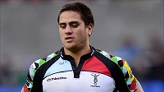 Ben Botica kicked 13 points for Quins