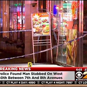 Police Investigating Stabbing Death Of Man In Times Square
