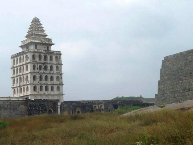 Kalyana Mahal in Gingee Fort