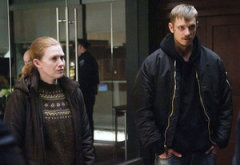 Mireille Enos and Joel Kinnaman | Photo Credits: Carole Segal/AMC