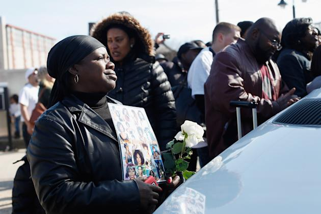 Whitney Houston Laid To Rest In Hometown Of Newark, New Jersey
