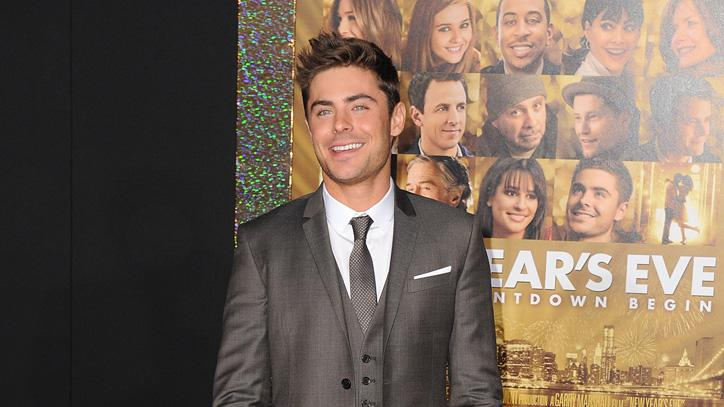 New Year's Eve LA Premiere 2011 Zac Efron