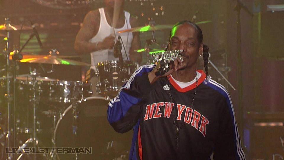 Gin & Juice (Live on Letterman)